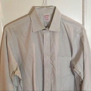Brooks Brothers Shirts - Brooks Brothers Checkered Dress Shirt 16-34